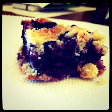 blueberry cobbler cookie