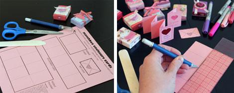 image regarding Matchbox Template Printable referred to as Rachels matchbox template